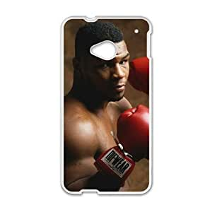 HTC One M7 Cell Phone Case White Mike Tyson N3F8DN