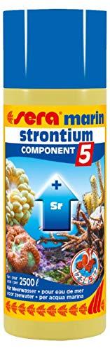 Sera Marin Component 5 Strontium 250 Ml, 8.45 fl.oz Aquarium -