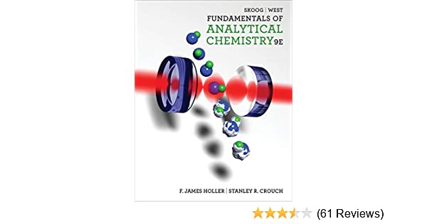 Amazon com: Fundamentals of Analytical Chemistry (9780495558286