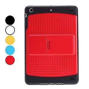 Caso duro del diseño simple con soporte ajustable para mini iPad (colores surtidos) , Amarillo