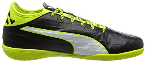 Puma Evotouch 3 It, Botas de Fútbol para Hombre Negro - Schwarz (black-white-safety yellow 01)