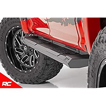 Rough Country HD2 Running Boards Fits 2015-2019 [ Ford ] F150 SuperCrew  Truck Side Steps SRB151791 HD2 Running Boards