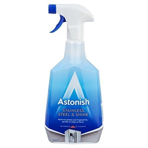 Astonish Stainless Steel Cleaner Trigger 500ml by Astonish
