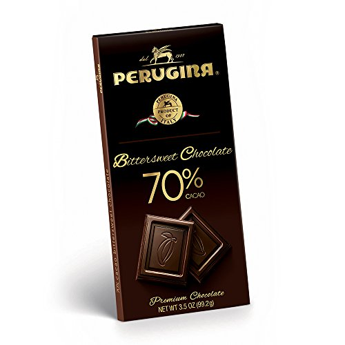 - Perugina Bittersweet Chocolate Bar, 70%, 99.2 Gram (Pack of 12)