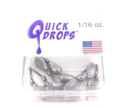 quickdrops Dropshotウェイトバス釣りシンカー 1/4 oz  B01JF3291U