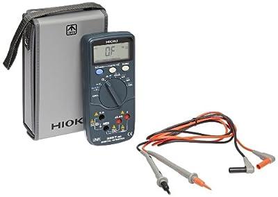 Hioki 3257-50 HiTester Auto-Ranging, True RMS Digital Multimeter, 1000V, 500 kHz, 42 Megaohms, 10 Amp