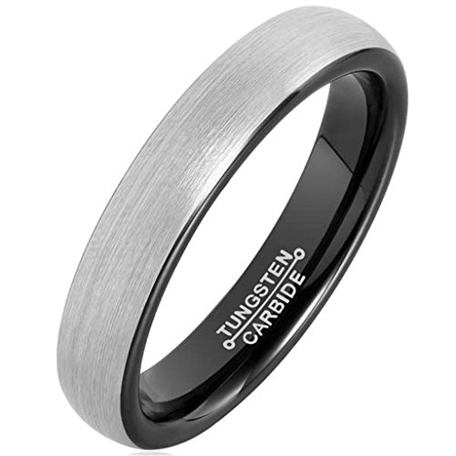 anazoz-tungsten-rings-for-men-wedding-engagement-band-brushed-black-4mm-size-115