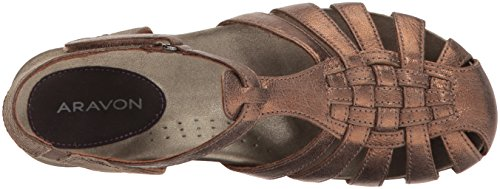 Women's Sandal Fisherman Aravon Bronze Standon f8xpzp