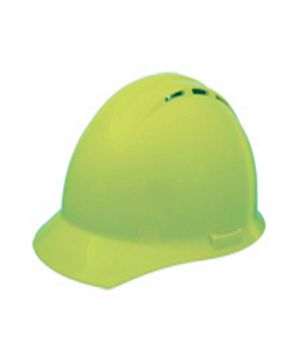 Pack of 12 White ERB Industries Safety Products 19451 Vented Hard Hat with Ratchet Suspension Standard