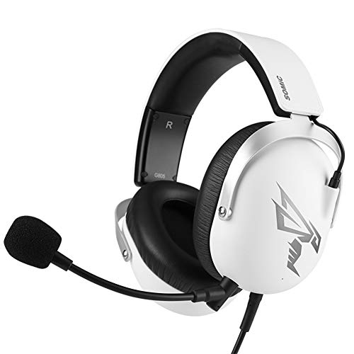 Void PRO RGB USB Gaming Headset (Microfibre Memory Foam Earcups, 7.1 Dolby Surround Sound, Optimised Unidirectional Microphone, Xbox/PC/Mac Compatible)(White)