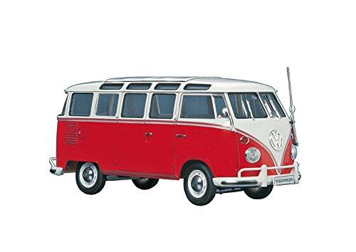 Hasegawa 1/24 Volkswagen Micro Bus (Plastic Window Model)