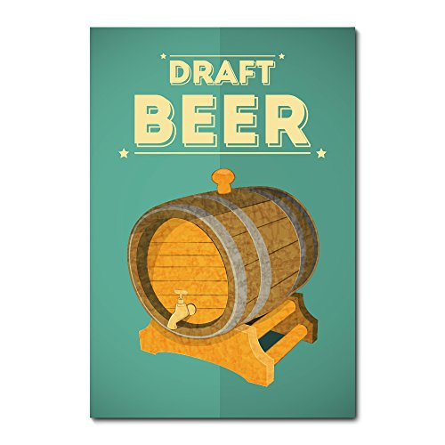 Placa Decorativa - Chopp - Cerveja - 1317plmk