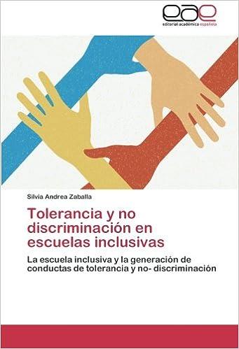 Libro Tolerancia y No Discriminación en Escuelas Inclusivas