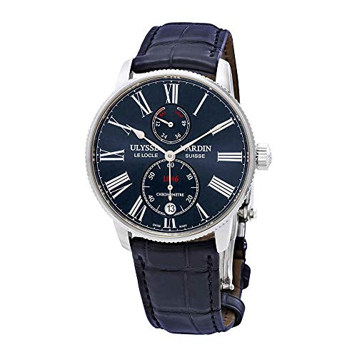Ulysse Nardin Marine Chronometer Torpilleur Mens Watch 1183-310/43