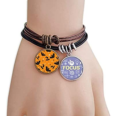 master DIY Spider Bat Halloween Hallowmas Bracelet Rope Wristband Force Handcrafted Jewelry Estimated Price -