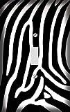 Zebra Skin Print Decorative Switchplate Cover