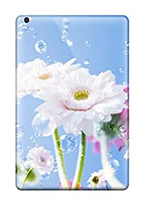Best Excellent Ipad Mini Case Tpu Cover Back Skin Protector Flower Drops Sky 1070144I78171010