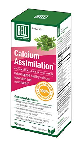 Bell Lifestyle Products Calcium Assimilation - 90 Capsules