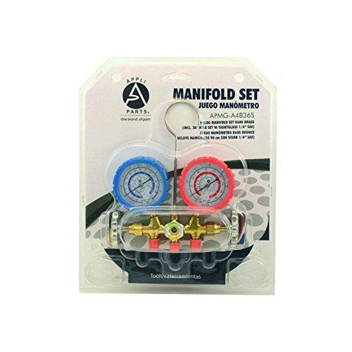 ANALOG MANIFOLD SET R600 BRASS INCL 36