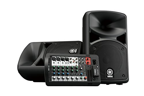 Yamaha Portable PA System with Bluetooth Stagepas 400BT