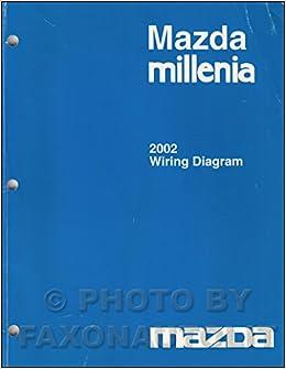 2002 Mazda Millenia Wiring Diagram Manual Original: Mazda: Amazon.com: BooksAmazon.com