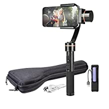 GimbalOne Smartphone Compact Gimbal Steadicam 3-Axis Handheld Stabilizer - Cinematic, Smart Motion Filming for All Smartphones Up to 7-Inches