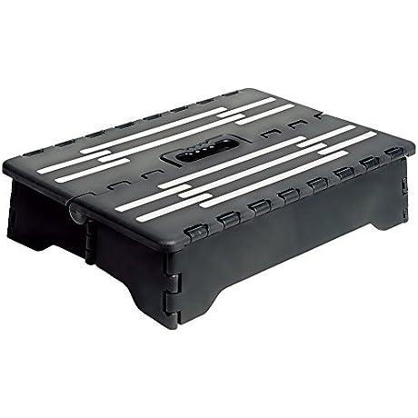 Portable Folding Step Black