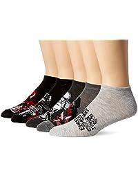 STAR WARS mens Episode 8 Men's 5 Pack No Show Socks Casual Sock