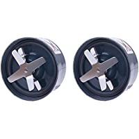 aokur New 2PCs Replacement nutribullet Extraction Blade For Nutribullet 600W 900W Blenders