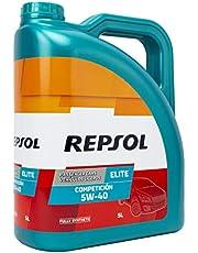 Repsol 540653 motorolie Elite Complicion 5W40 5 Lt, transparant/goud, 5L