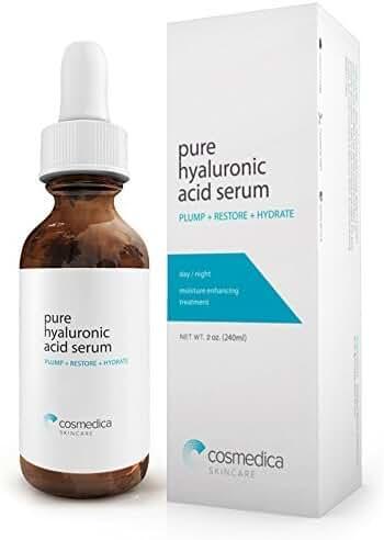 Hyaluronic Acid Serum for Skin- 100% Pure-Highest Quality, Anti-Aging Serum-- Intense Hydration + Moisturizer, Non-greasy, Paraben Free, Vegan-Best Hyaluronic Acid Serum (Pro Formula)