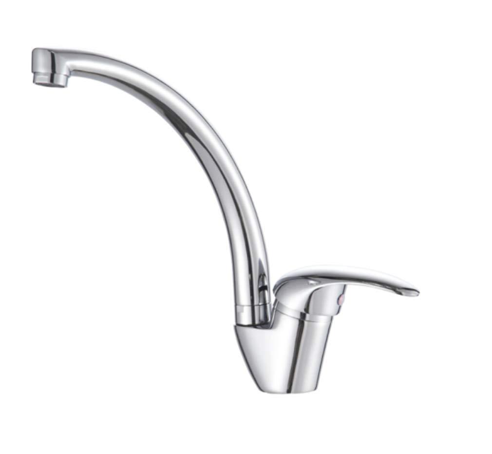 Edelstahl Einhand Mischer Einhebel Bad Küchenarmatur Heißer Und Kalter Kupfer HauptKörper Waschbecken Becken Wasserhahn Wasserhahn