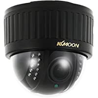 """KKmoon 720P Wireless WIFI Dome PTZ HD IP Camera 2.8~12mm Auto-Focus Manual Varifocal Zoom Lens 1.0MP 1/3"""" CMOS 22pcs IR Lamps IR-CUT Night Vision Phone APP Control Motion Detection for Home Security"""