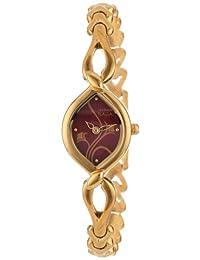 Titan Women's 2455YM02 Raga Jewelry Inspired Gold-Tone Watch