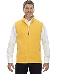 Core 365 Journey Mens Polyester Fleece Tricot Lined Lower Pockets Vest