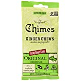 Chimes Original Ginger Chews, 42.5 g
