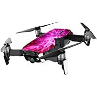 MightySkins Skin for DJI Mavic Air Drone - Red Mystic Flames | Min Coverage Protective, Durable, and Unique Vinyl Decal wrap cover | Easy To Apply, Remove, and Change Styles | Made in the USA