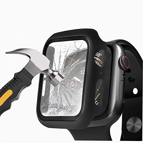 Protector Para Apple Watch Series 6/5/4/se 44mm Negro