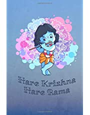Hare Krishna Hare Rama: Blank Lined Krsna Consciousness Devotee Composition Notebook Journal Diary Daily Practice Bhakti Yoga
