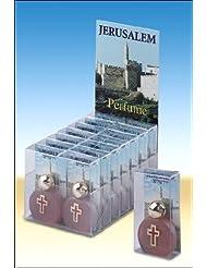 Jerusalem Perfume 7 ml. with Cross - Christian Perfume from Jerusalem
