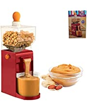 Mini Home Portable Electric Grinder Production Peanut Butter Machine Nut Manufacturing Small Cooking Grinder, for Coffee Corn Peanut Cashew Hazelnut Grain Mill