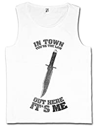 IN TOWN YOU'RE THE LAW TANK TOP VEST – Sly Rambo out here it's me Knife