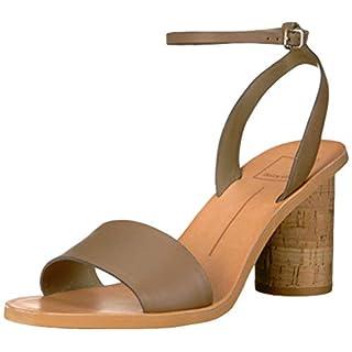 Dolce Vita Women's Jali Sandal, Olive Leather, 11 M US