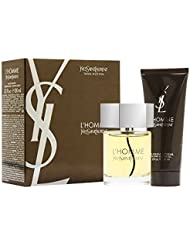 L'Homme Yves Saint Laurent By Yves Saint Laurent For Men. Gift Set( Edt Spray 3.3 Oz & & All Over Shower Gel 3.3 Oz )