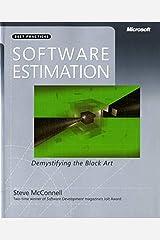 Software Estimation: Demystifying the Black Art (Developer Best Practices) Paperback