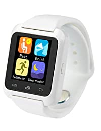 Smartwatch U8 Color Blanco Bluetooth Reloj Inteligente - Compatible iOS / Android
