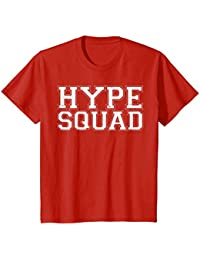 Hype Squad sports game day tailgate fan shirt