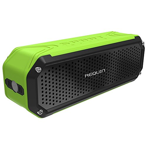 requin-5v-10w-universal-wireless-portable-bluetooth-speaker-with-bass-flashlight-green