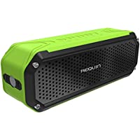 REQUIN 5V 10W Universal Wireless Portable Bluetooth Speaker with Bass Flashlight, Green