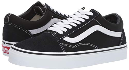 Vans Unisex Old Skool Black/White Skate Shoe 8 Men US / 9.5 Women US